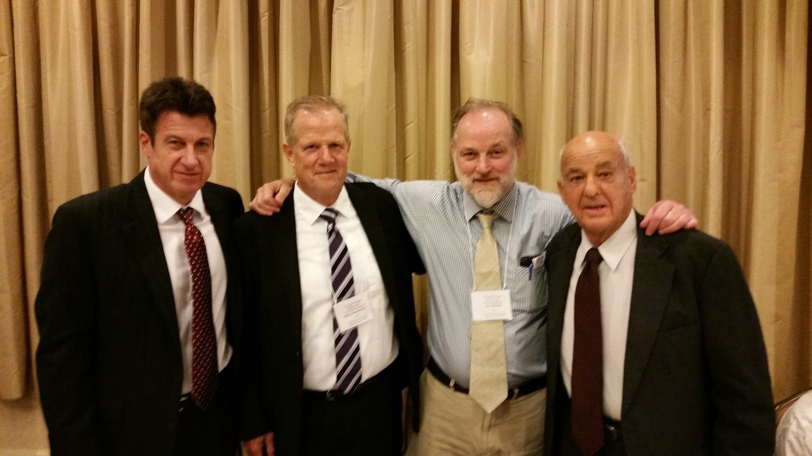 JFK Historical Group: David Denton, Walter Boyes, Ed Tatro, Cyril Wecht
