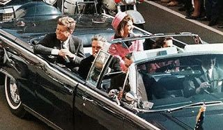 John F. Kennedy in Dallas Limo