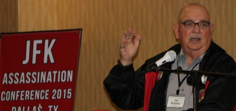Jim Botelho, Oswald's roommate, speaking in Dallas Nov. 21, 2015 JIP Photo)