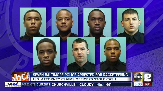 baltimore police arrested via abc
