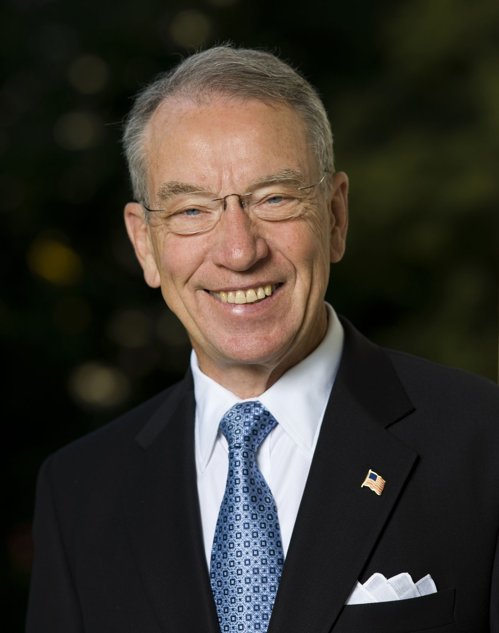 chuck grassley official