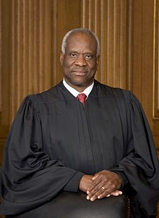 clarence thomas w new official