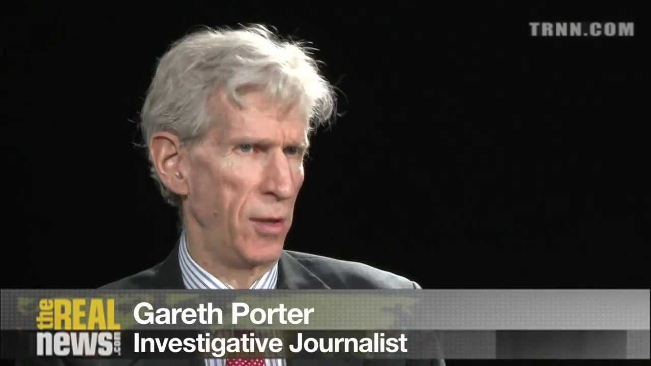 gareth porter trnn screenshot