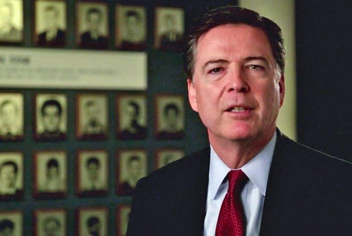 james comey fbi recent photo
