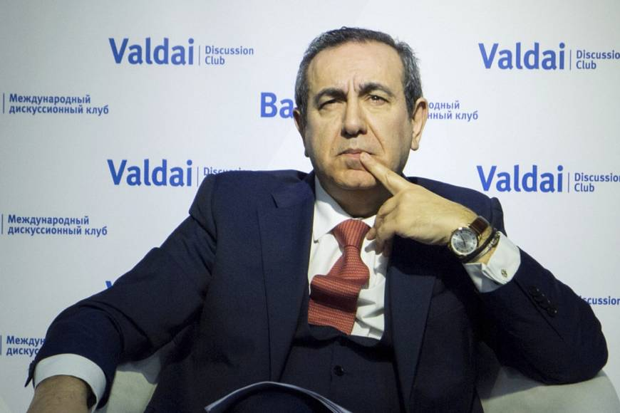 Dr. Joseph Mifsud (Valdai Discussion Club 2016 conference in Moscow handout photo via Associated Press)