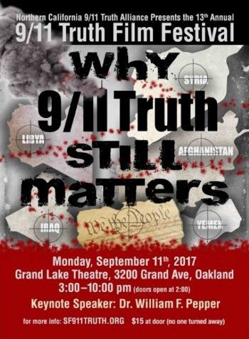 9 11 truth conference film festival in Oakland