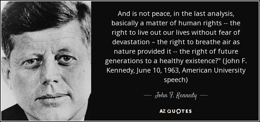 jfk graphic from au peace speech