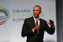 Former President Barack Obama (Chicago Summit Oct. 31, 2017)