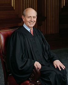 stephen breyer full portrait