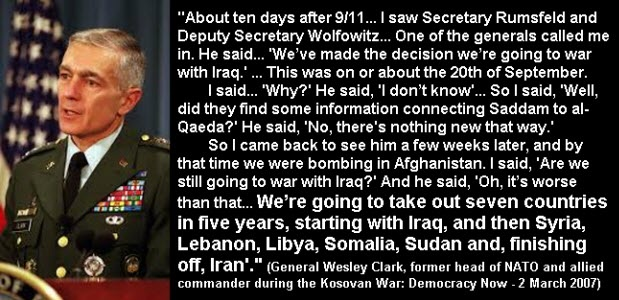 wesley clark graphic quotation