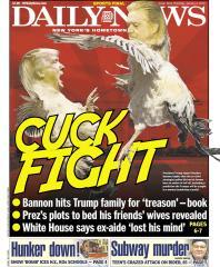 djt bannon cuck fight nydaily news jan 4 2018
