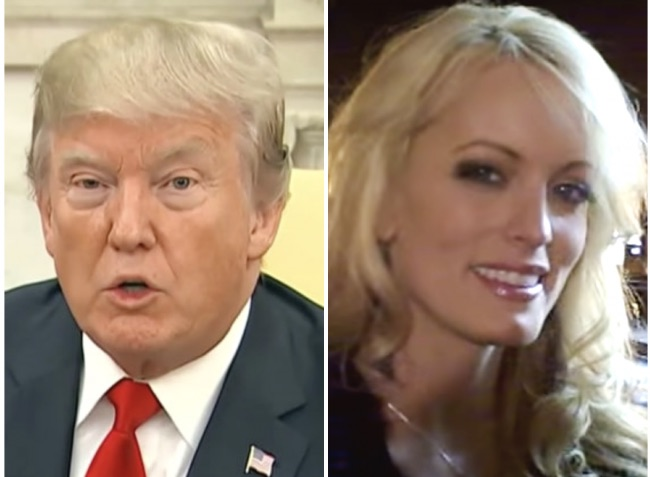 djt stormy daniels screengrab