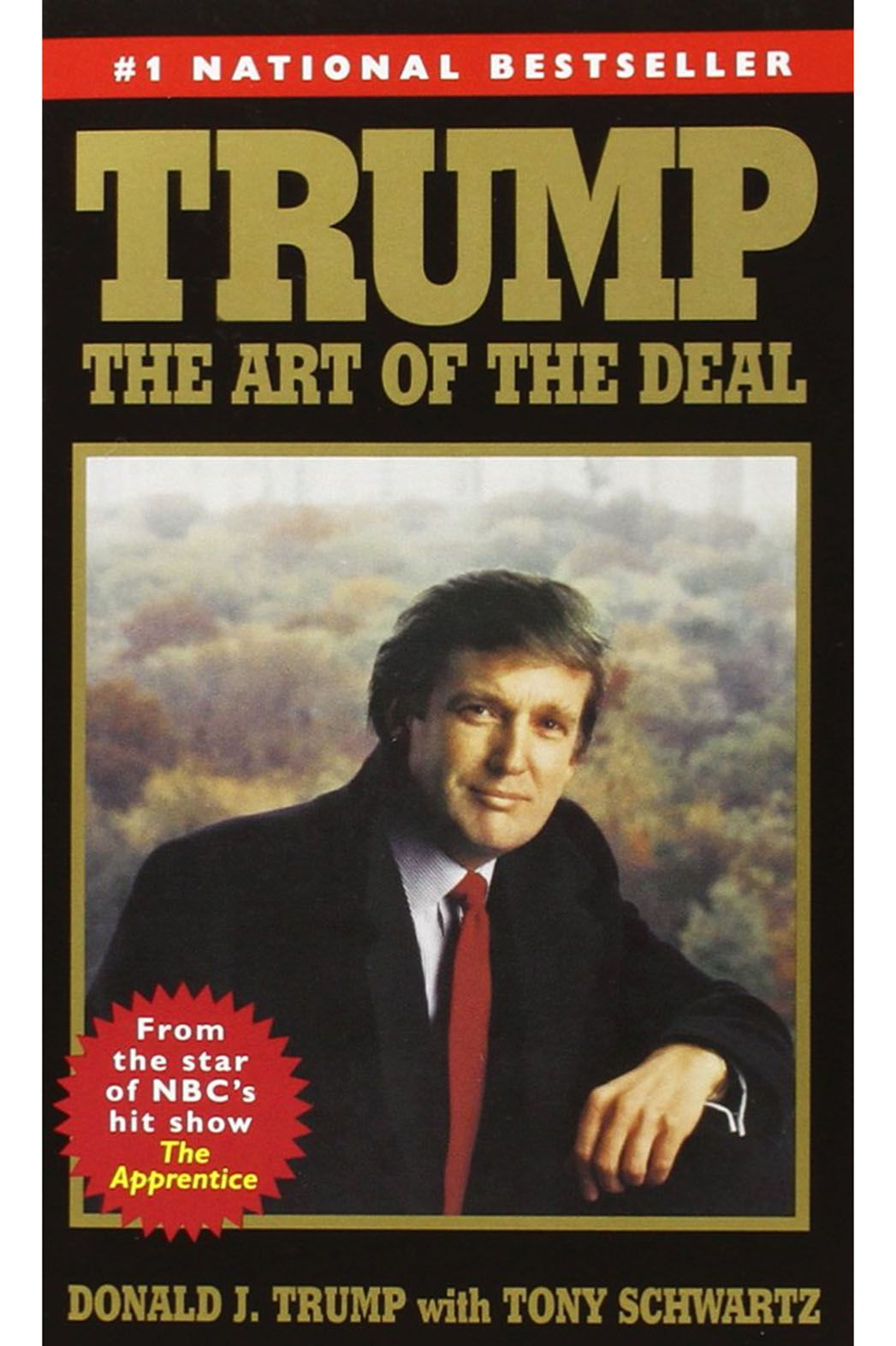Donald Trump Cover Art of the Deal