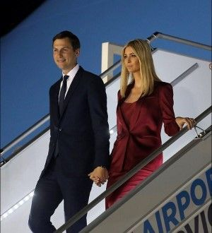 Jared Kushner and Ivanka Trump in July 4, 2017 via Facebook