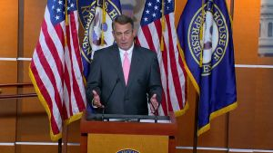 John Boehner Sept. 25, 2015 CNN