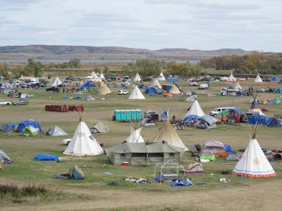 Oceti Sakowin encampment on Oct. 6, 2016. The proper name for the people commonly known as the Sioux is Oceti Sakowin.