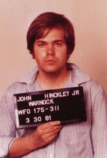 John Hinckley mugshot