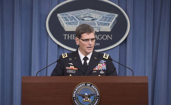 Centcom Commander Gen. Joseph Votel Aug. 22, 2016 (DOD Photo)
