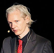 Julian Assange via Wikimedia and Creative Commons