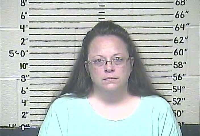 Kim Davis in Carter County (KY) Detention Center