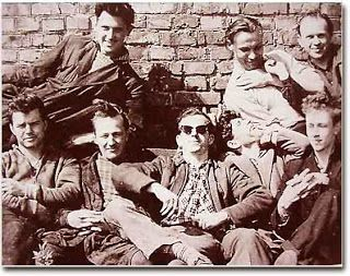 Lee Harvey Oswald with Minsk radio factory friends