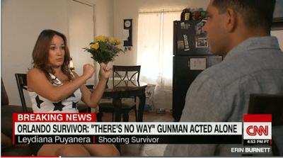 Leydiana Puyanera, Orlando Survivor (CNN)