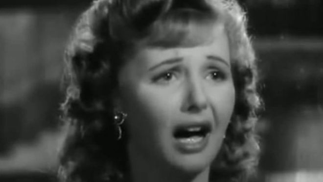 "Madeline LeBeau in ""Casablanca"""