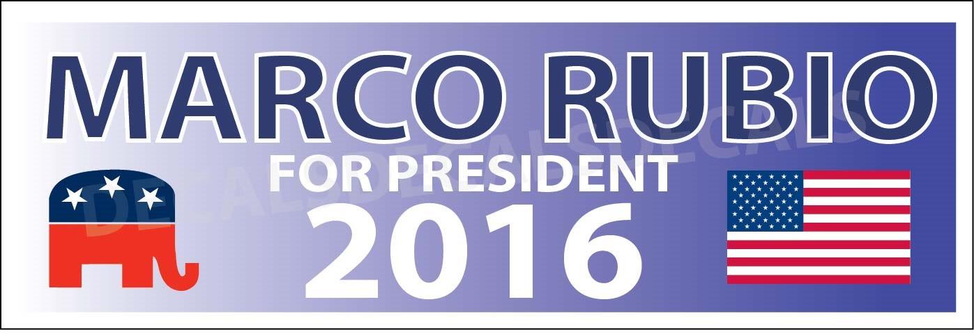Marco Rubio Bumber Sticker