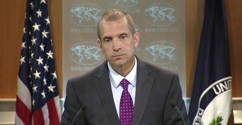 Mark Stone at U.S. Department of State (C-SPAN screen shot)
