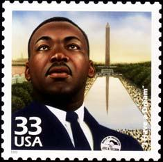Martin Luther King Stamp