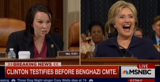 Martha Roby and Hillary Clinton MSNBC Oct. 22, 2015
