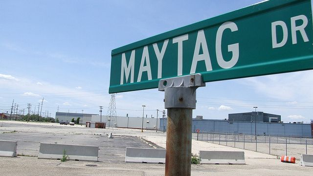 Maytag Drive in Galesburg, IL (Tom Fucoloro photo via flickr)