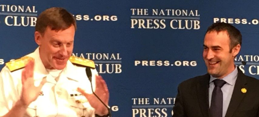 Michael Rogers and Thomas Burr, NPC July 14 2016
