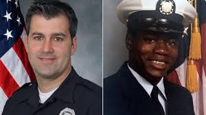 Michael Slager and Walter Scott, Coast Guard photos