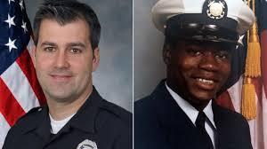 Michael Slager and Walter Scott, Coast Guard photos