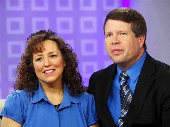Michelle and Jim Bob Duggar (NBC News Photo)