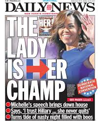 Michelle Obama NY Daily News