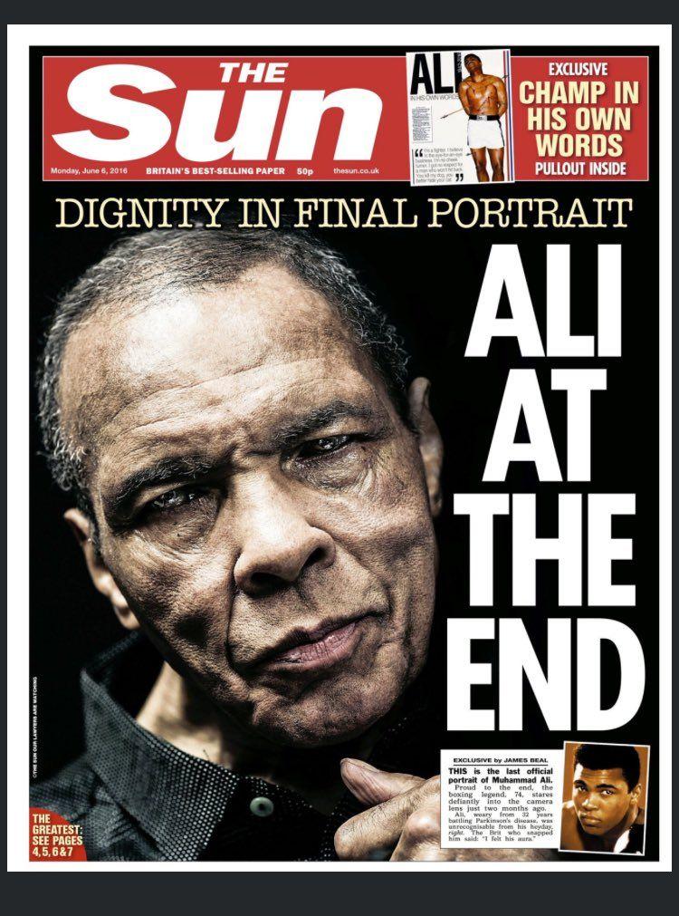 Muhammad Ali Zenon Teixera UK Sun