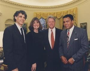 Muhammad Ali, Thomas Hauser, Bill Clinton, Nancy 1996