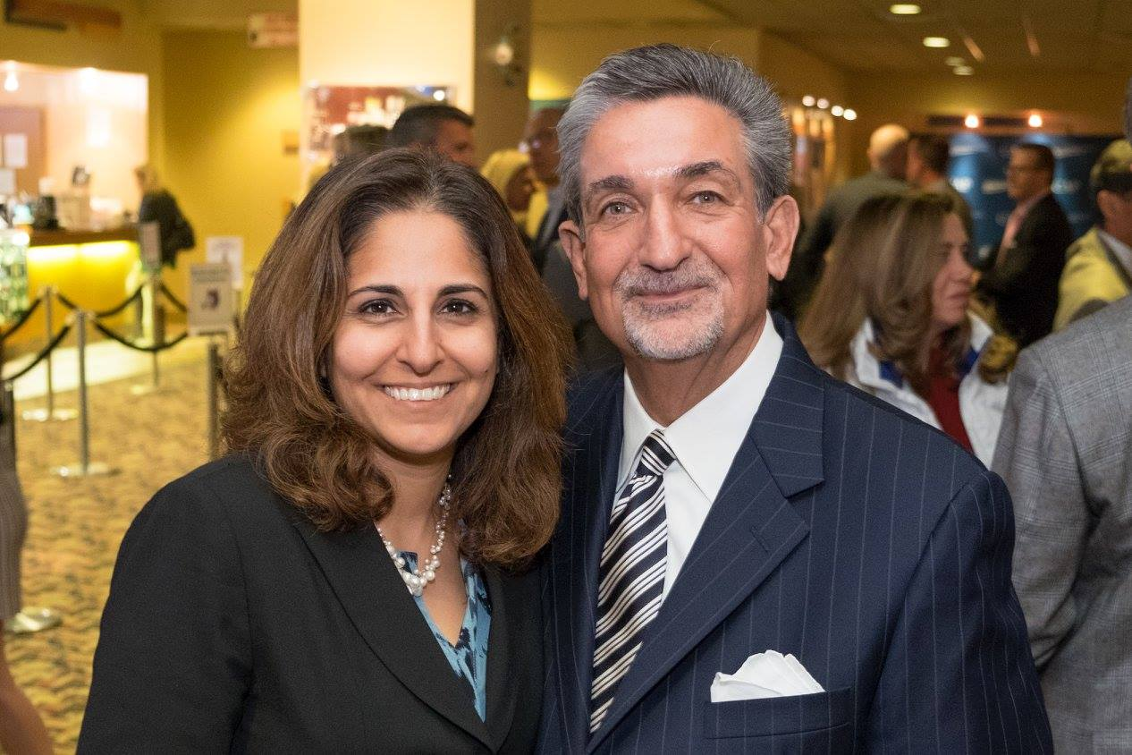 Neera Tanden and Ted Leonsis Nov. 9, 2015