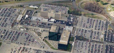 NSA HQ in Fort Meade aerial view