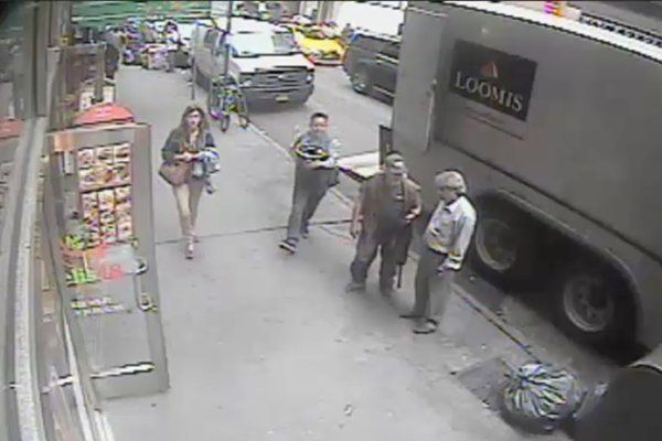 New York City gold theft from Loomis truck, Sept. 29, 2016 (NYPD photo)
