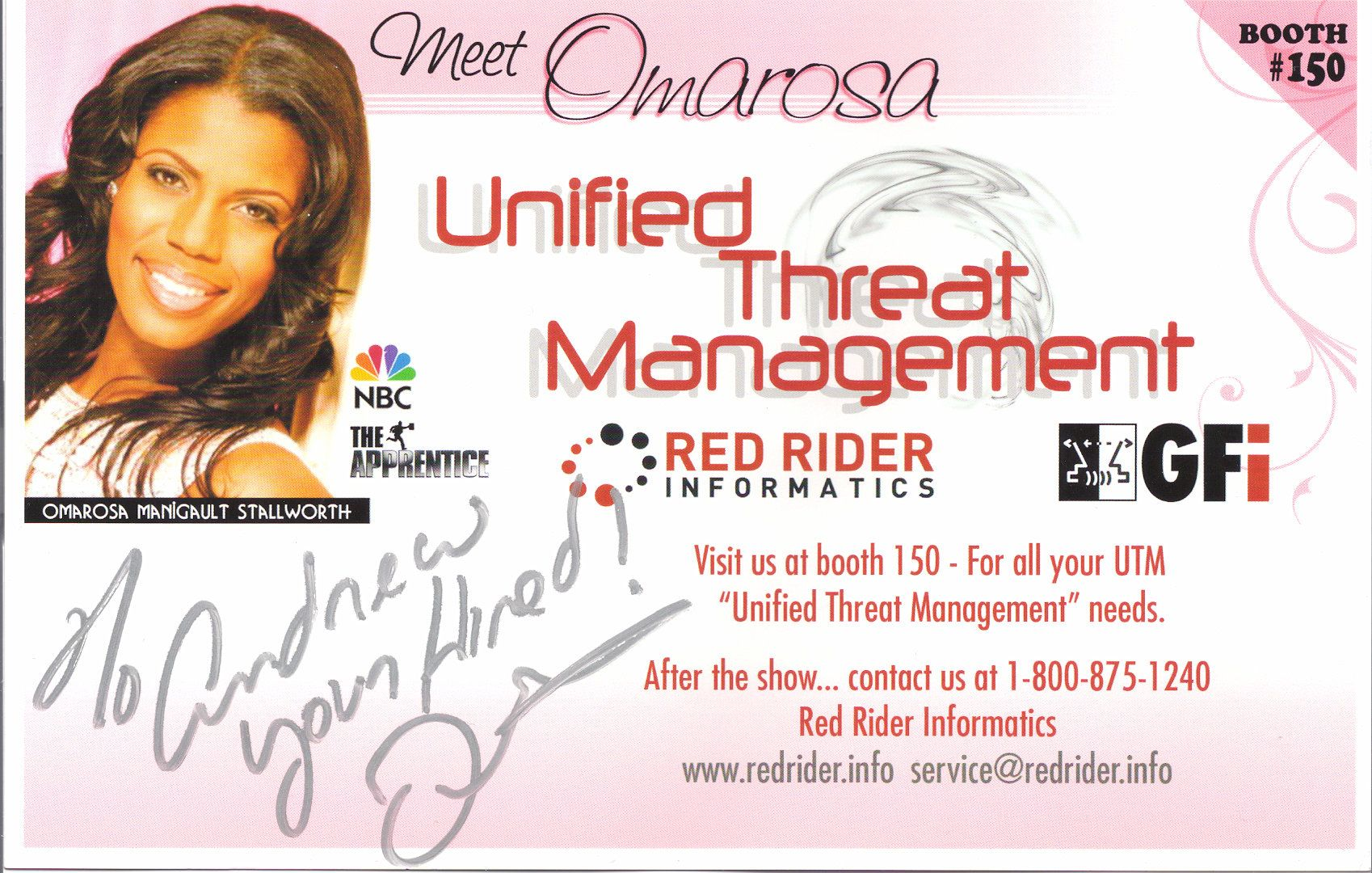 Omarosa Card in 2008