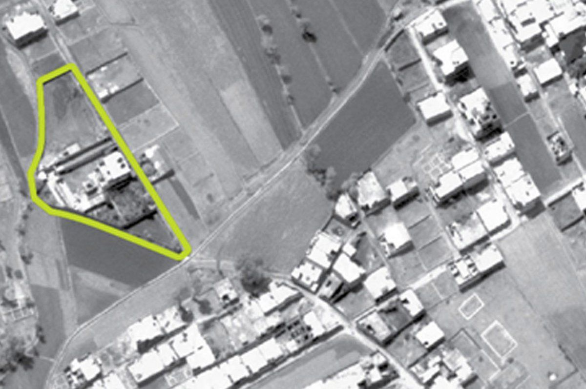 Purported compound of Osama bin Laden in Pakistan (Defense Department aerial photo)