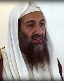 Osama Bin Laden in screen shot from purported Al Qaeda video