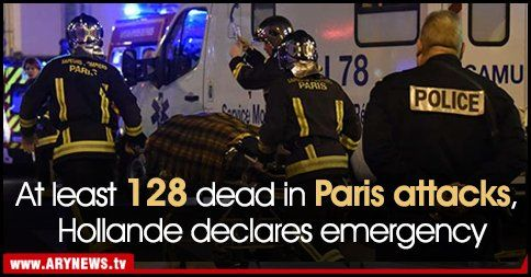 Parisian Bombing 128 Dead