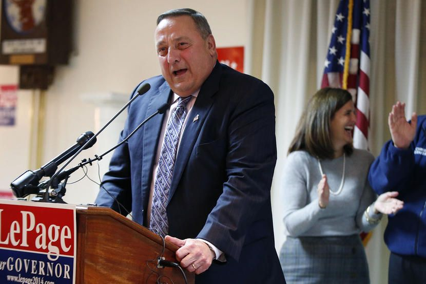 Paul Lepage Maine governor file photo