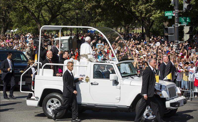 Pope Francis Visits Washington, DC Sept. 23, 2014 (EFE)