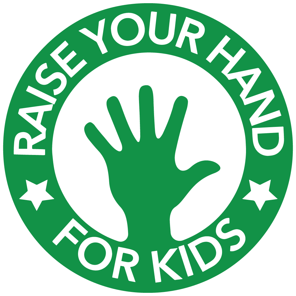Raise Your Hand For Kids logo
