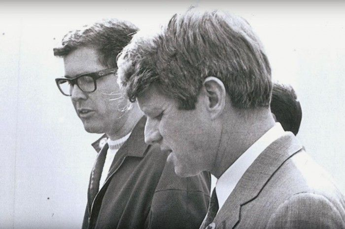 Robert F. Kennedy and Paul Schrade, 1968 (MALDEF — Mexican American Legal Defense and Educational Fund)